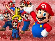 Mario Wallpaper FlopiSega