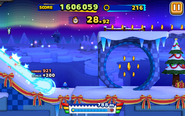 Frozen Factory - Night (Sonic Runners) - Screenshot 2