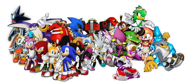 File:Awesome Sonic Characters.PNG