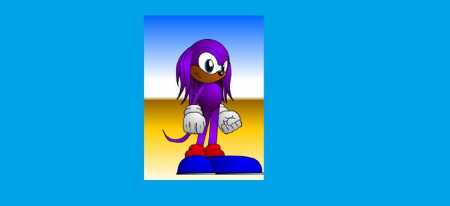 File:Flashy the Echidna close up.png