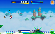 Sky Road (Sonic Runners) - Screenshot 4