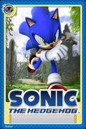 Sonic 2006 Card