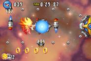 Ultimate G Missile barrier attack
