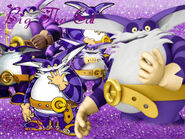 Big The Cat Wallpaper FlopiSega