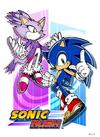 Rush Sonic&Blaze poster
