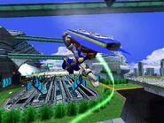 Sonic riders metal city