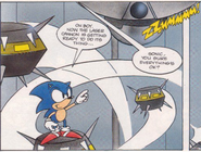 Barrier Eggman the Comic