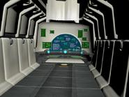 Train interior
