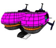 Frigate Orcan model
