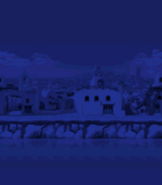 Windmill Isle - Night Background (Mobile)