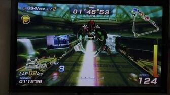 E3 2010 Sonic Free Riders Gameplay Xbox 360 Kinect (HD)