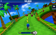 Green Hill (Sonic Dash) - Screenshot 2