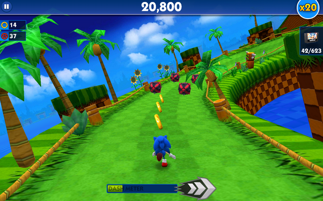 File:Green Hill (Sonic Dash) - Screenshot 2.png