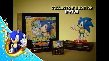 RARE Sonic Mania Collector's Edition Infomercial - 1996