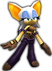 Sonic Rivals 2 - Rouge the Bat costume 2