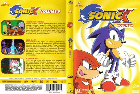 File:Sonic X Volume 9 AUS full cover.jpg