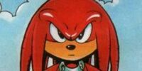 Knuckles the Echidna (Sonic the Comic)