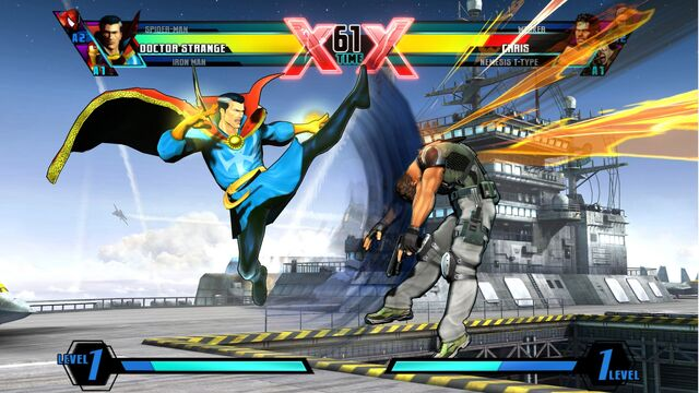 File:Ultimate Marvel VS Capcom 3 Character Pose 1.jpg