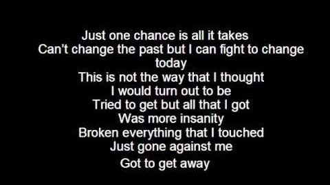 Skillet Madness In Me Lyrics