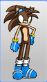 Bladez in Sonic Riders
