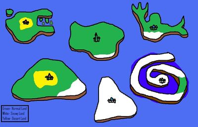 Ancient Continent Map