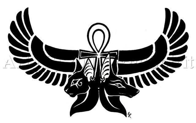 File:Anubis-Bastet-Egyptian-Tattoo.jpg