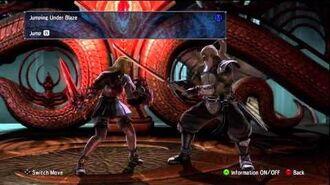 Soul Calibur 5 Pyrrha Omega Move List