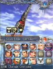 Soul edge larvae