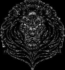 Lion Kingdom Flag - Logo