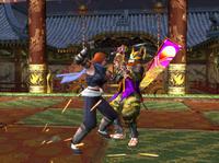 Tsubame Yoshimitsu sparring