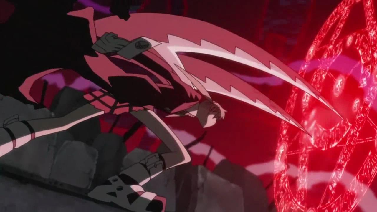 Image - Maka - Weapon - Shoulder Blades.png | Soul Eater Wiki ...