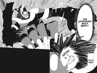 Soul Eater Chapter 10 - Free reveals he is a werewolf