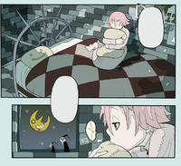 Soul Eater Chapter 24 - Crona waits in Overnight Room