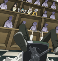 Soul Eater Episode 5 HD - Stein arrives to class 1