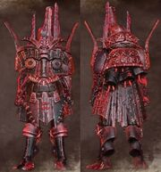 Red Male Warrior