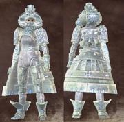 Warrior-white-female