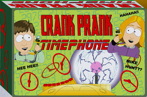 Crank Prank Time Phone