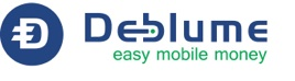 Deblume Logo for website