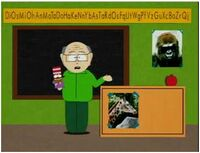 Mr. Garrison room.