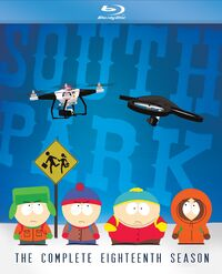 South Park The Complete Eighteenth Season Blu-ray