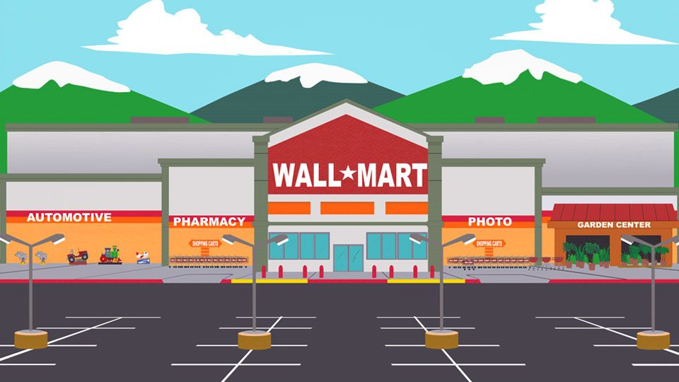 Something Wall Mart This Way Comes - Full Episode - Season 08 - Ep 09 | South Park Studios