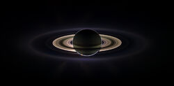 Saturn eclipse