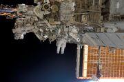 STS-118 EVA1 Rick Mastracchio