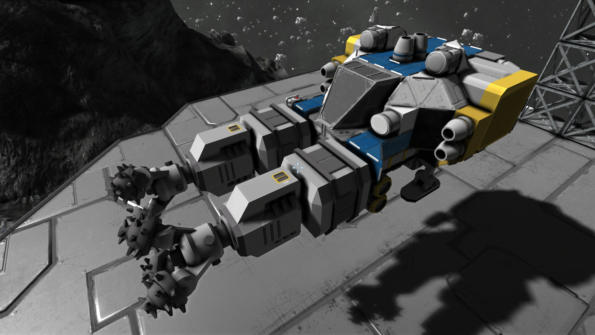 Miner space engineers wiki fandom powered by wikia - Small reactor space engineers gallery ...