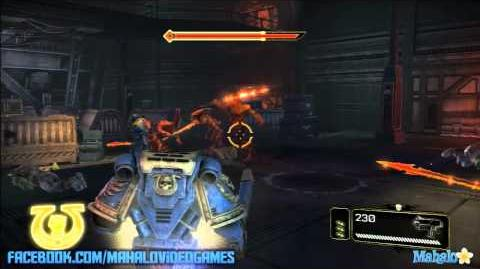 Warhammer Space Marine - Walkthrough - The Weapon - Chapter 11 Point of No Return 2