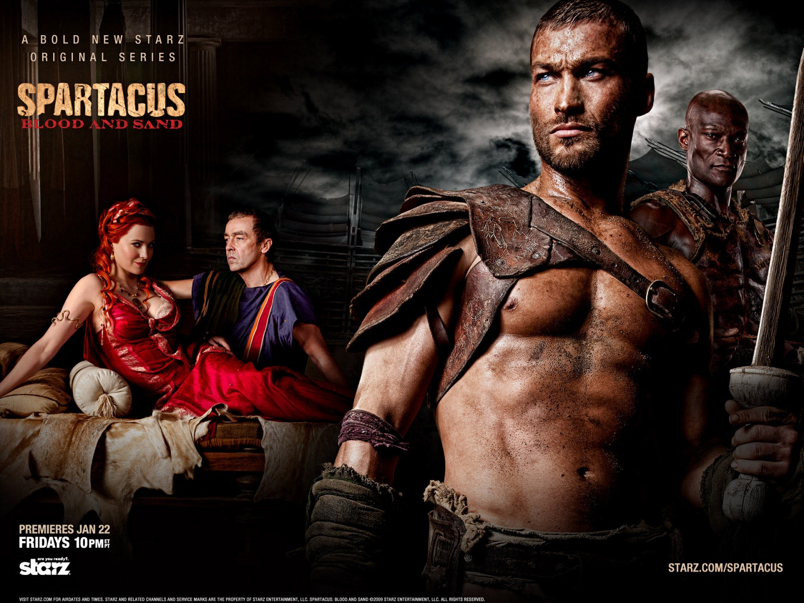 spartacus blood and sand sex videos