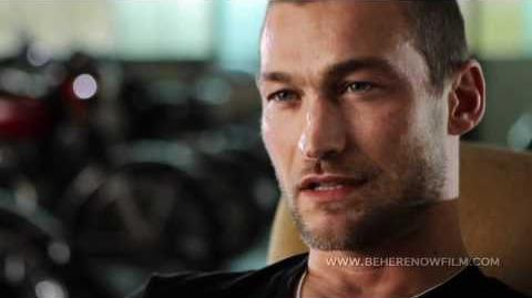 """Be Here Now"" -- The Andy Whitfield Story Feature Documentary Trailer, by Lilibet Foster-0"