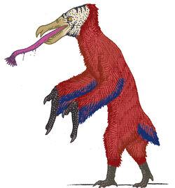 Primeval future bird