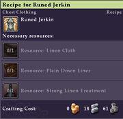 Recipe-Runed-Jerkin-Mouseover
