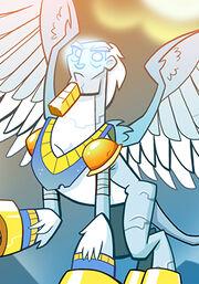 Marble Sphinx C